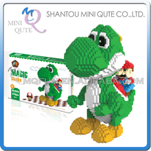 Mini Qute HC Huge game super mario and yoshi plastic building block cartoon model action figures education educational toy