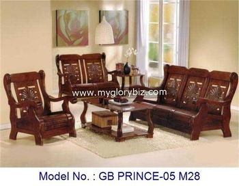 Living room sofas wooden sofa sets wooden furniture sofa for Wooden chairs for living room