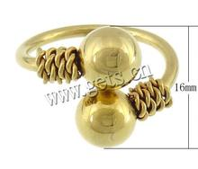 Stainless Steel Barbell Vibrating Tongue Barbell Ring 702786