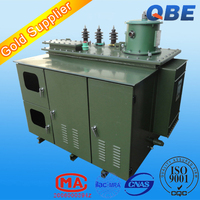 on load adjustable capacity oil type high voltage electrical step down distribution transformer