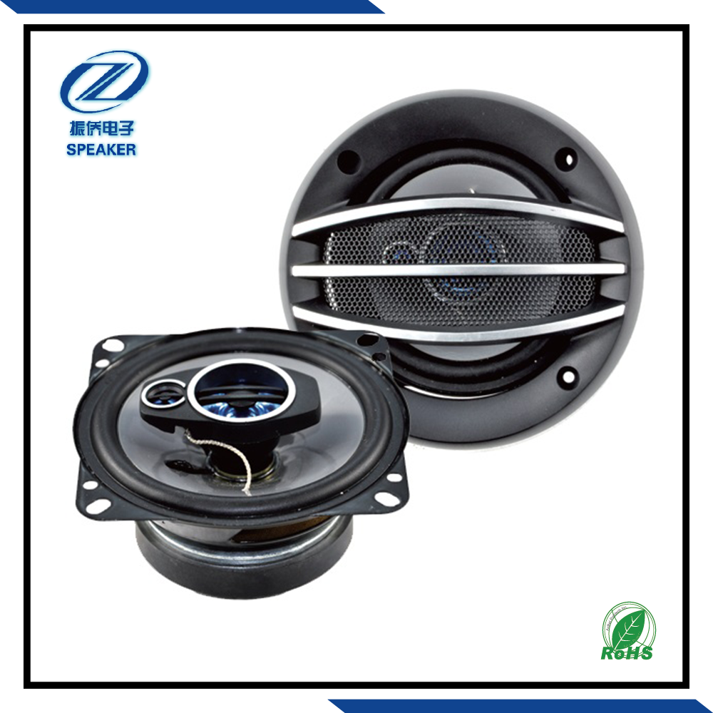 High powerful 4 inch professional auto 25w car coaxial speaker