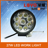 12V 24v Driving Worklight 27w led work light for Offroad, Tractor, Truck,AtV,UTV, Boat 4x4 4wd, off road led worklight