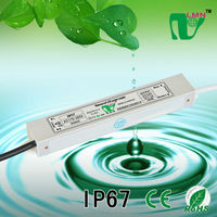 IP67 water-resistant led power supply