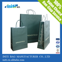 High Quality Recyclable Custom cheap strong brown paper bags