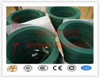 PE or PVC coated metal wire binding wire