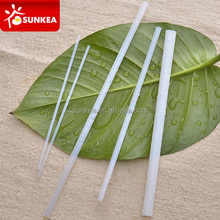 Eco friendly biodegradable plastic drinking PLA straw
