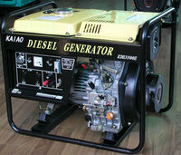 KDE3500E 3000W 230/240V Open Frame Diesel Engine Backup Electric Generator