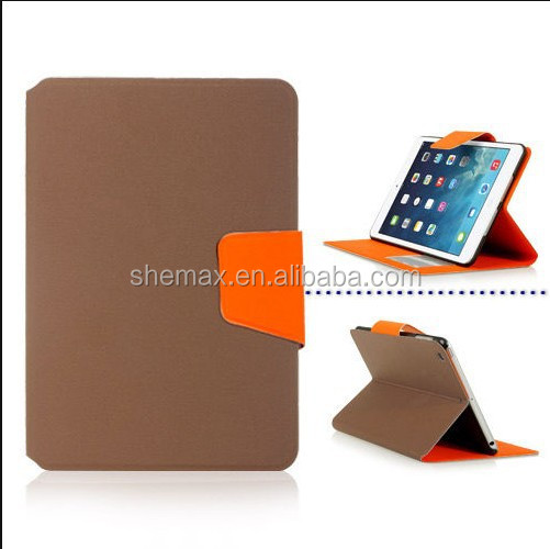 LEATHER WALLET CASE COVER STAND FOR APPLE iPAD MINI WITH RETINA DISPLAY