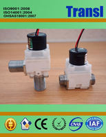 12V Plastic Sensor Water Solenoid Valves Latching Control Valve Plastic Touch Free Sanitary Parts
