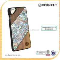 China Wholesale Manufacturer Handmade Ultra Slim Fashion Wood case for iPhone 6 Plus
