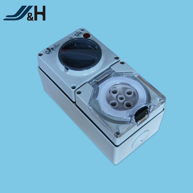 Australia industrial SAA switched socket 5Pin 50A 56CV550