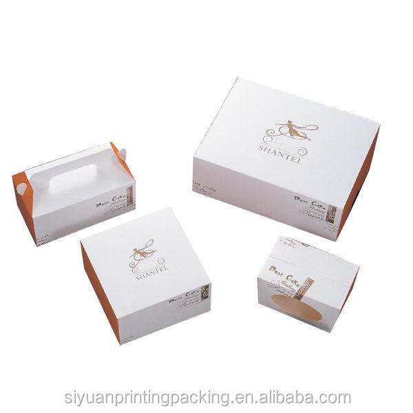 Customized new coming butterfly wedding cake boxes box