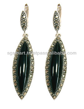 Silver Earring Marcasite Wholesale Jewelry Factory in Thailand..!!