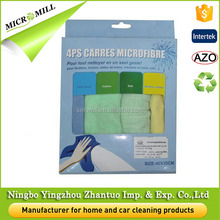 Wholesale kitchen towels bulk, cleaning kitchen towel set 80 polyester 20 polyamide microfiber towel