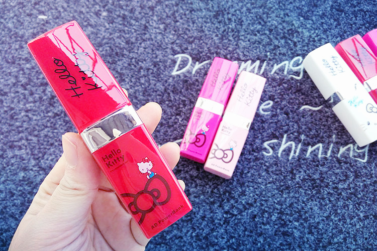 2600mAH lipstick portable cell phone charger for gift