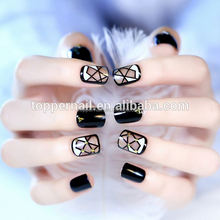 2016 new designs hot sale acrylic children nail tips OEM