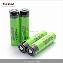 lithium ion NCR18650b 3400mah 3.7v battery cells rechargeable battery 18650 li battery from Soshine