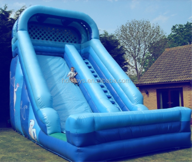 Hola new inflatable slides for kids/giant inflatable water slide for sale