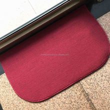 Polypropylene PP Loop Pile Indoor Plain Door Mat