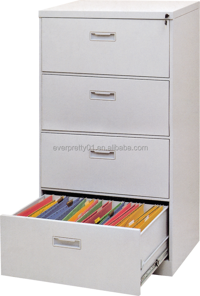 Simple Steel Furniture Steel Four Door Cabinet Cheap Library Steel Cabinet