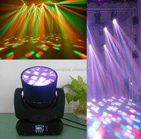 alibaba express 12*10w rgbw 4in1 LED moving head sharp light 12CH touch screen for Christmas Disco