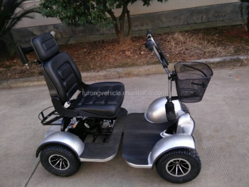Newly chinese design one duluxy seat 55AH batteries power golf cart