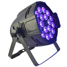 Excellent suppliers stage light 18pcs 12w rgbw 4in1 indoor par led light for party