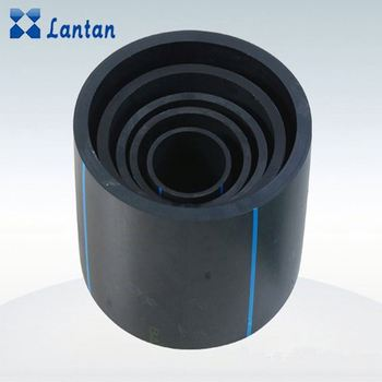 DN63mm HDPE water supply pipe with fittings