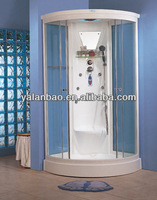 Cheap steam shower room G254 home shower cabin with sauna