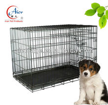 "professional manufacturer pet crate Large Folding 36"" Mesh Crates Cage"