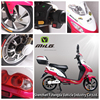China Cheap 48V 450W 16-inch Brushless Electric Motorcyle