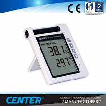Digital Thermometer and Hygrometer with Alarm and Detachable Probe