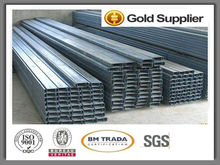 2016 The Newest super quality steel c channel section sizes