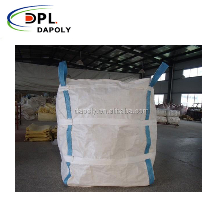 Cheap china fibc big bags for sand,cement,rice,fertilizer,animal feed, durable quality fibc bulk bag, 1 ton fibc big bag used