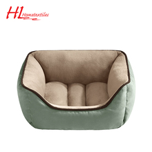 Square Warm Approved Luxury Pet Sofa Bed Warm Bed For Dog