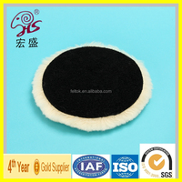 2016 new product Clean easily lamb wool polishing pad high quality