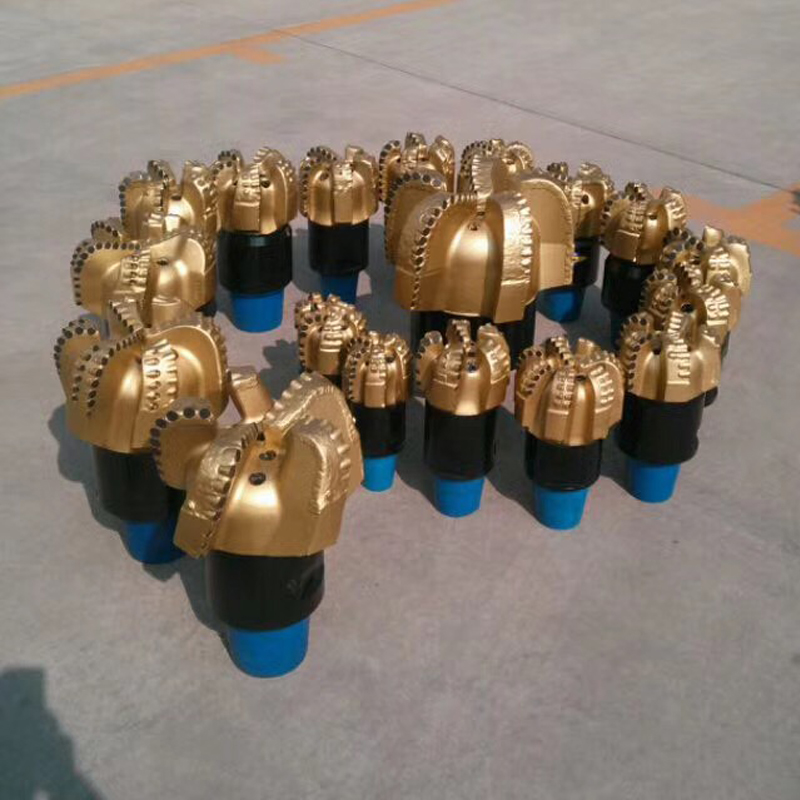 4 To 8 Blades High Quality PDC Drill Bit For Hard Formation Drilling