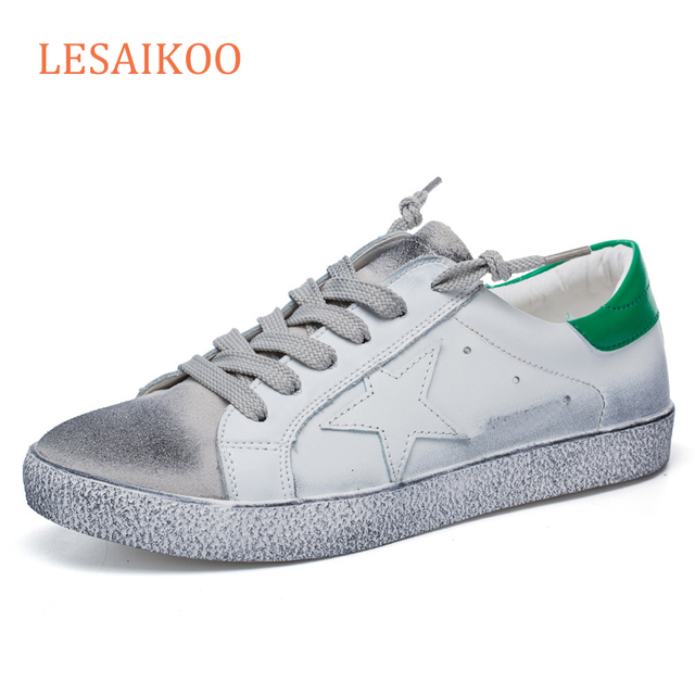 Wholesale hot sale korea shoes women custom casual shoes white leather sneakers women