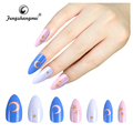 fengshangmei nail art eco-friendly acrylic nail tips super nail art on tips