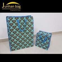 Novelty PP Woven Laminated Shopping Luggage Reusable Bags