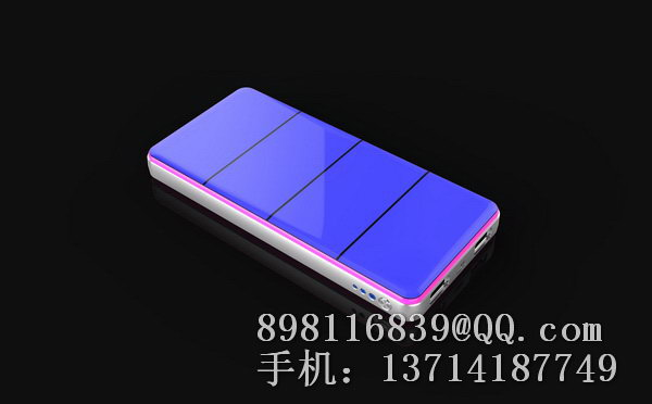 Fashionable branded for iphone 4 solar charger battery case