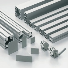 2020 3030 4040 5050 8080 anodize T slot extruded aluminum alloy frame profile Aluminum extrusion industrial profile