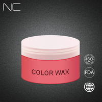 China Hair Wax Factory Wholesale 7 Kinds Of Color Fashion Style Alcohol Free Hair Color Gel/Hair Color Wax In Bulk
