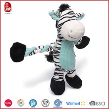 2015 China Yangzhou customize names for cute zebra stuffed wild animals