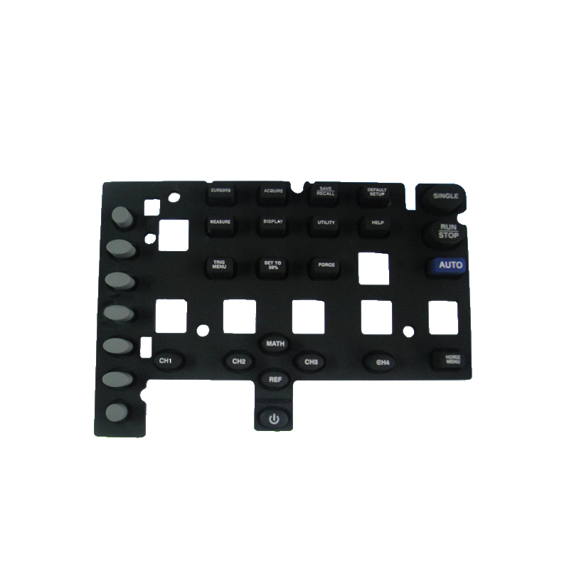 OEM high quality customized rubber keypad for laptop