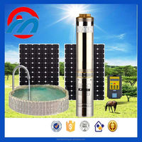 solar DC 100w to 30kw Power and Centrifugal or screw solar system kit Theory solar water pump for swimming pools