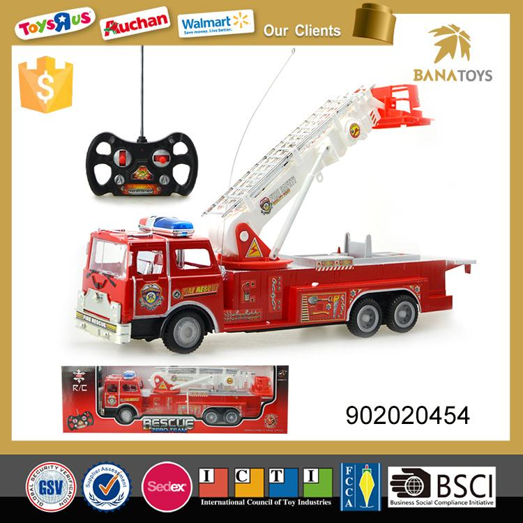 Latest simulation rc fire truck for sale