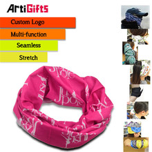 Promotion customized seamless kerchief