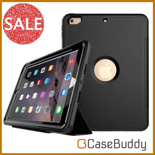Casebuddy Combo 4 in 1 Business Book Smart Heavry duty armor for ipad 9.7 case 2017