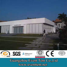 glass wall and hard walls new 25x75m big AUDI event tents for sale
